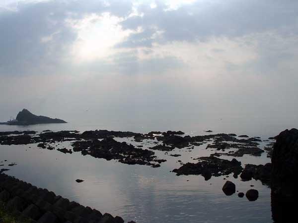北海道風景写真画像 知床 知床の海岸