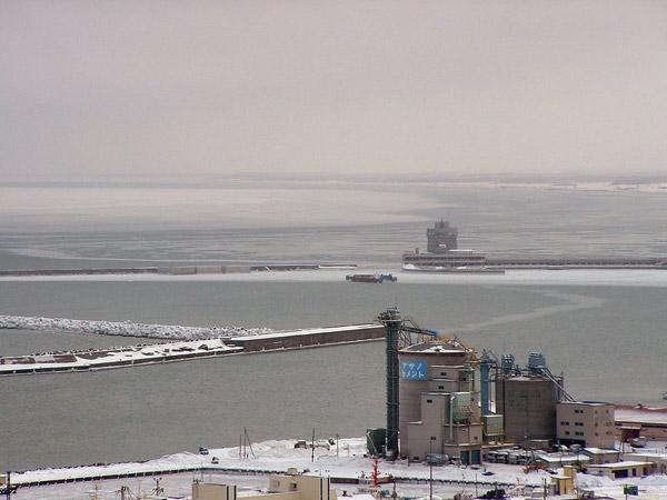 北海道風景写真画像 紋別市の流氷1