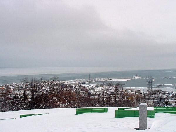 北海道風景写真画像 紋別市の流氷3