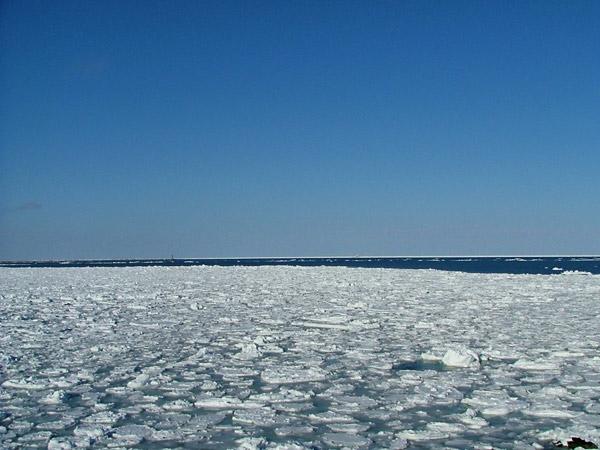 北海道風景写真画像 網走市の流氷1
