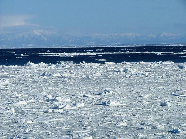 北海道風景写真画像 網走沿岸の流氷1