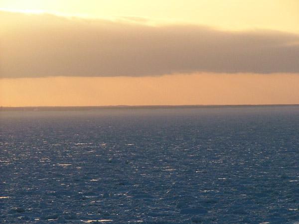 北海道風景写真画像 知床沿岸の流氷1
